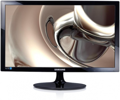 "ЖК-монитор Samsung S24D300H. Samsung S24D300H 24"" Wide LCD LED monitor, 2ms(GtG), 250 cd/m2, MEGA DCR (static 1000:1), 170°/160°, D-sub, HDMI, Windows 8.1, EnergyStar 6.0, black LS24D300HS/RU"