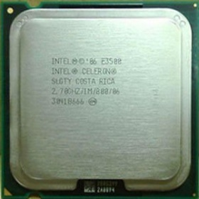 Процессор Intel s775 Celeron E3400 (2.60GHz/800/1Mb, Wolfdale 45 nm, TDP 65W, 2 core), tray SLGTZ