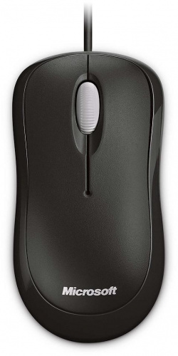 Мышь Microsoft. Microsoft Wired Basic Optical Mouse, Black P58-00059