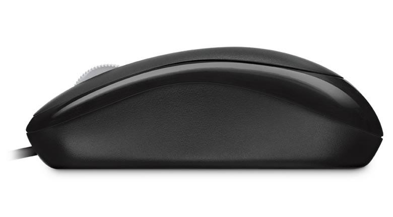 Мышь Microsoft. Microsoft Wired Basic Optical Mouse, Black
