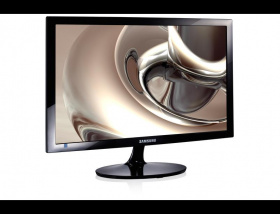 "ЖК-монитор Samsung S24D300H. Samsung S24D300H 24"" Wide LCD LED monitor, 2ms(GtG), 250 cd/m2, MEGA DCR (static 1000:1), 170°/160°, D-sub, HDMI, Windows 8.1, EnergyStar 6.0, black"