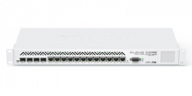 Маршрутизатор Mikrotik Cloud Core Router 1036-12G-4S