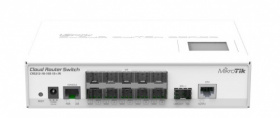 Коммутатор Cloud Router Switch Mikrotik CRS212-1G-10S-1S+IN (RouterOS L5) CRS212-1G-10S-1S+IN