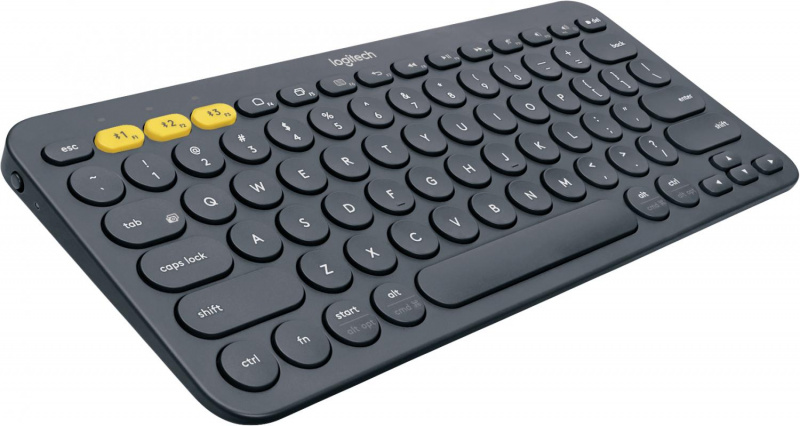Клавиатура Logitech. Logitech Keyboard K380 Dark Grey Wireless Bluetooth RTL, Multi-Device