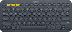 Клавиатура Logitech. Logitech Keyboard K380 Dark Grey Wireless Bluetooth RTL, Multi-Device 920-007584