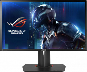 "Монитор LCD 24"" ASUS. ASUS ROG SWIFT PG248Q, 24'' FHD (1920x1080) Gaming monitor, 1ms, up to 180Hz, DP, HDMI, USB3.0, G-SYNC PG248Q"